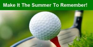 Golfing Image