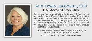Ann Lewis-Jacobson Bio