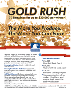 American Equity Gold Rush Incentive