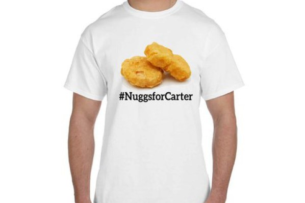 wendy's #nuggets for carter T-shirt