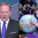 'The Daily Show' Turns Sean Spicer Into 'Kindergarten Press Secretary'