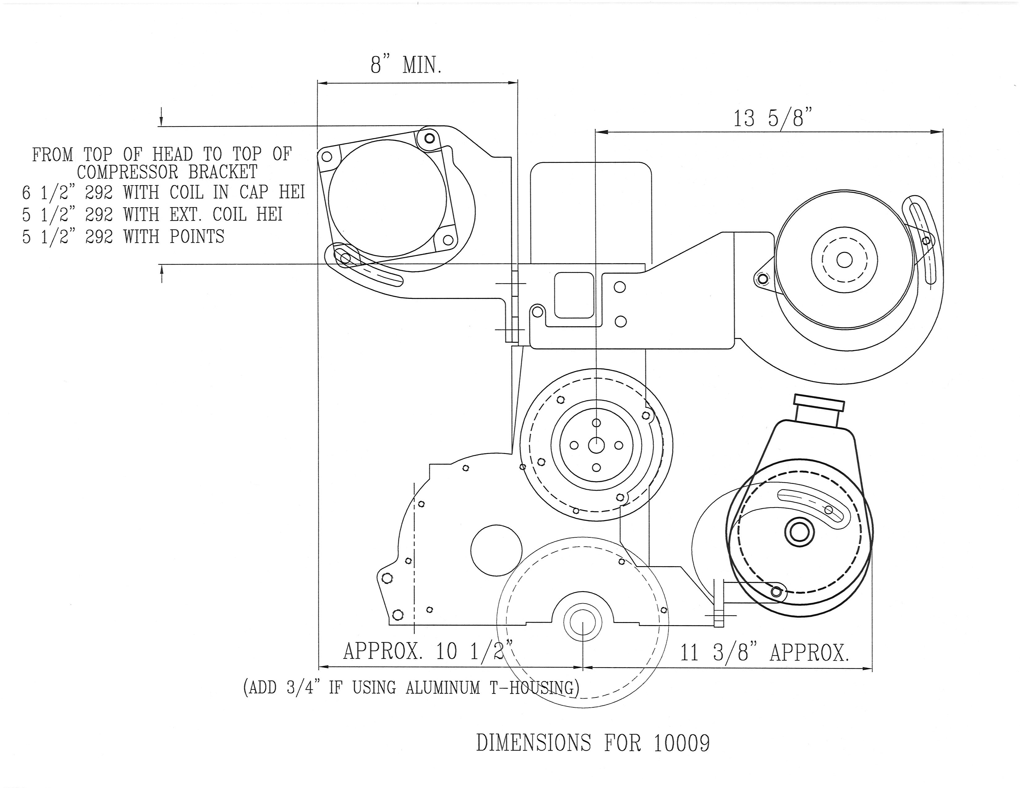 Air Conditioning Power Steering Amp Alternator Bracket