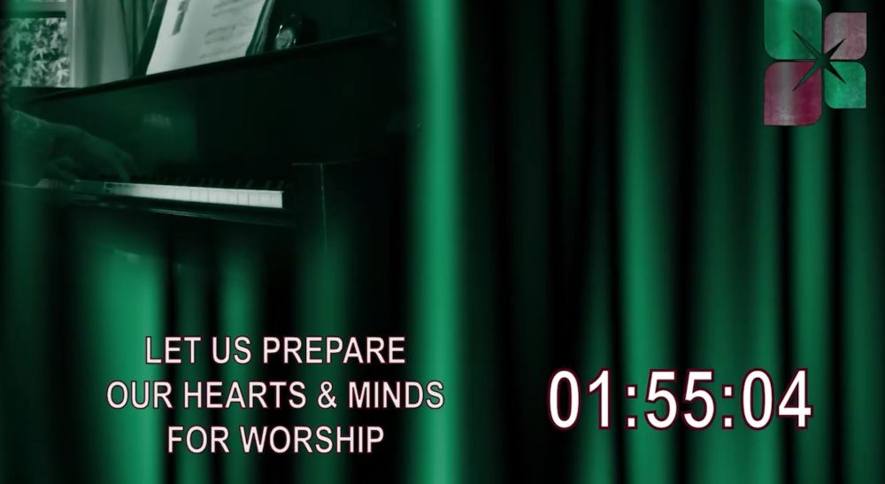 May 24th, 2020 Sunday Worship LIVE Online Image