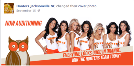 Visit Hooters