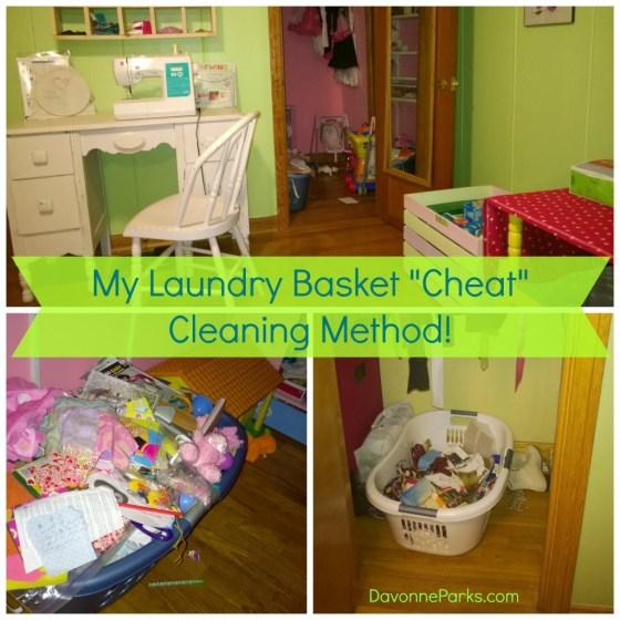 LaundryBasketCleaning