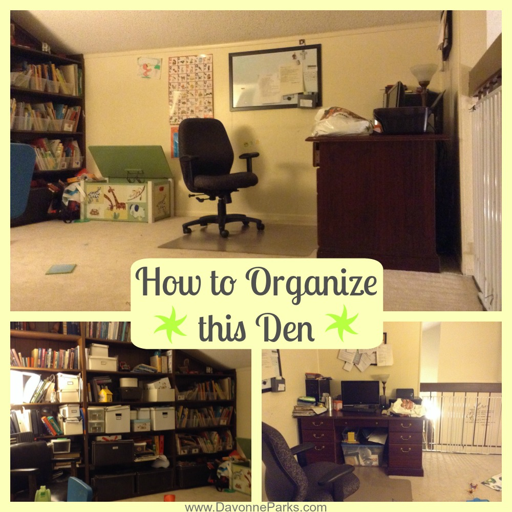 How to Combine The Toy Room and Home Office - Davonne Parks