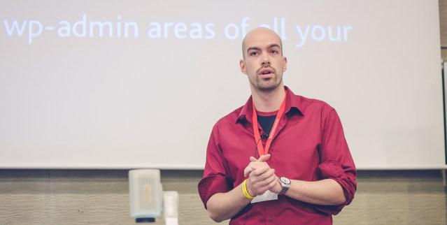 Me at WordCamp Prague
