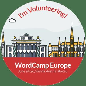 Volunteer at WC EU 2016