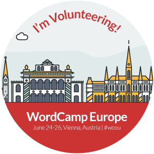 Volunteer at WC EU 2016