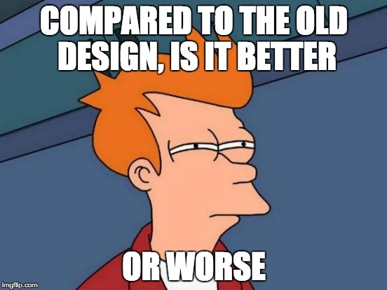 Good or bad design