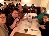 My colleagues and I at a meetup in Dublin