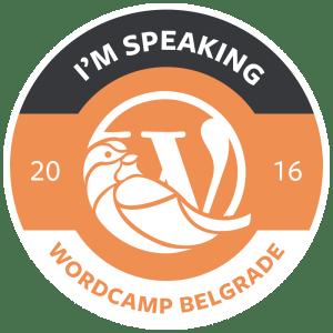Speaking at WCBGD