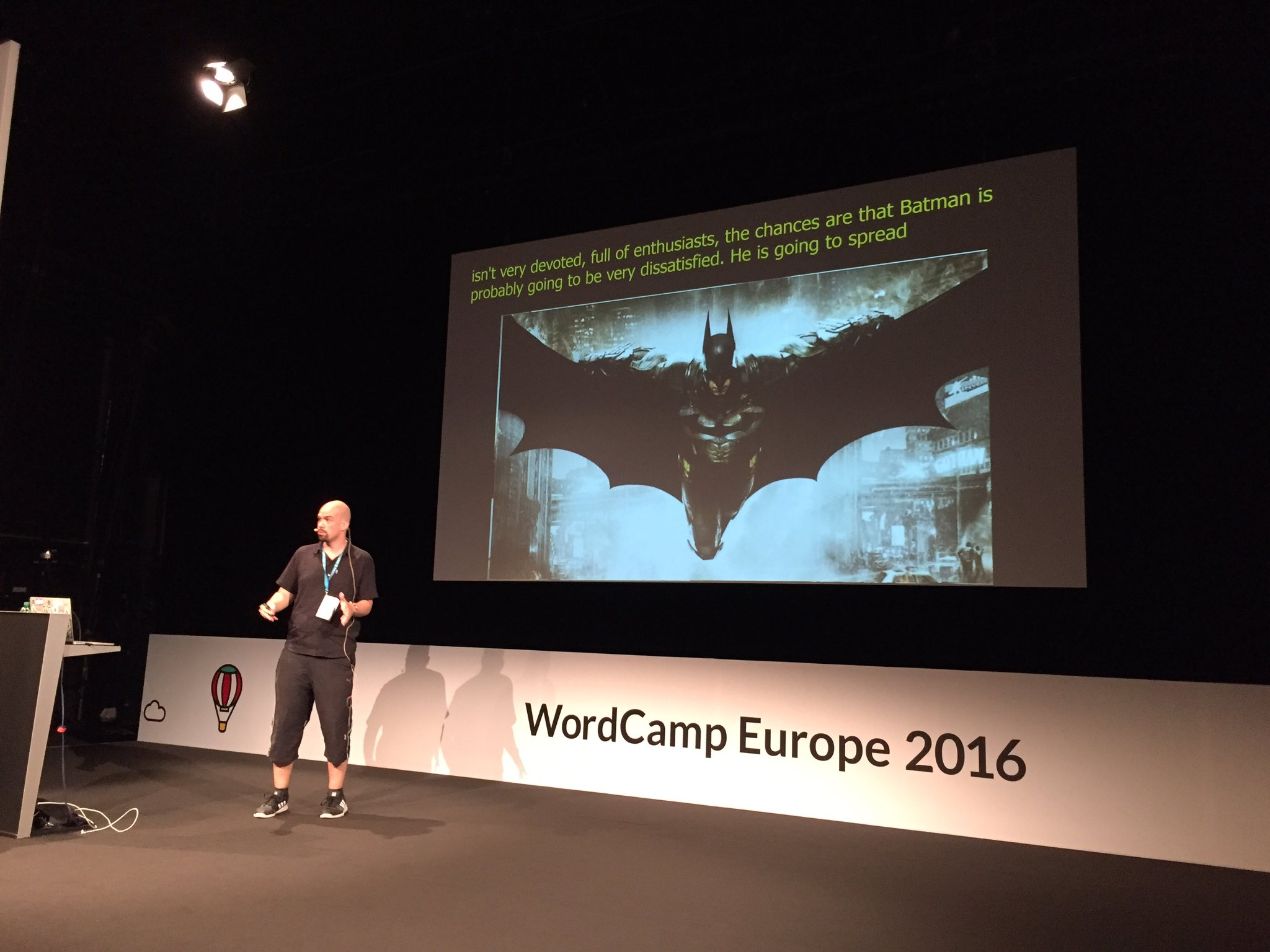 Thank you @WCEurope