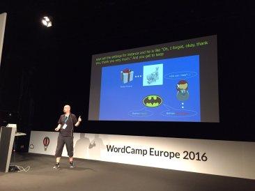 Speaking at WordCamp Europe 2016