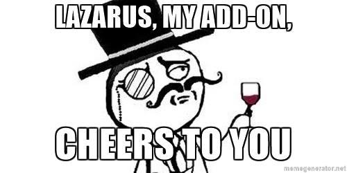 Lazarus - the Saviour add-on 2