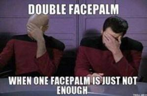 facepalm from Star Trek