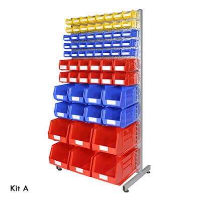 small parts rack storage kits
