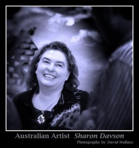 Sharon Davson - Artist, Keynote and Guest speaker