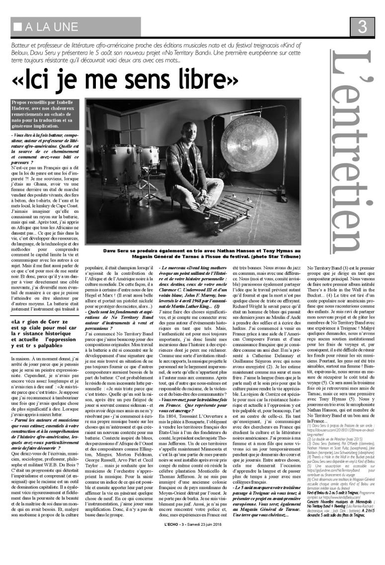 French article