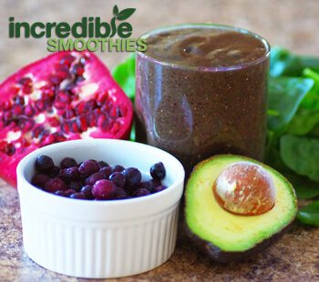 Blueberry-Avocado Green Smoothie Recipe