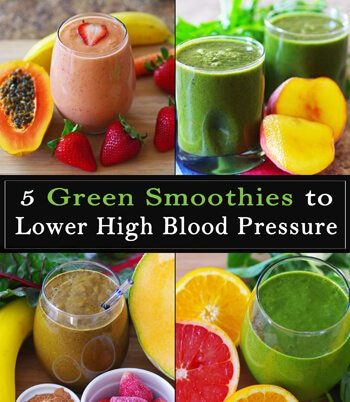 5 Green Smoothies To Lower High Blood Pressure