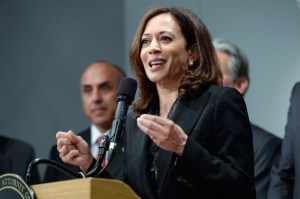 California AG Kamala Harris Holds News Conference On Gun Violence