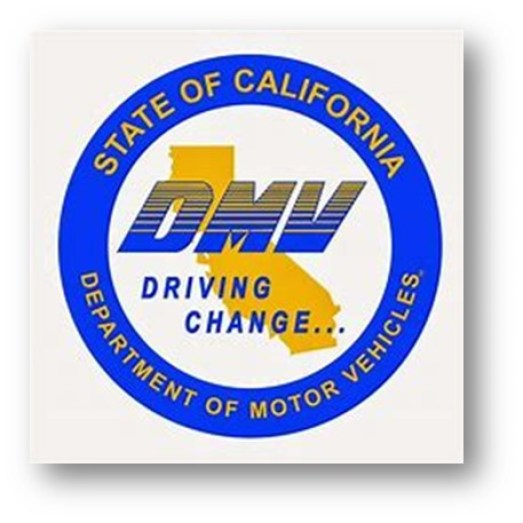 CALIFORNIA DMV TAKES ID PICTURE WITH MASK ON