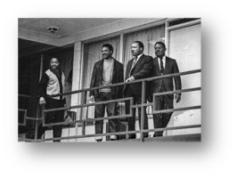 1968: Martin Luther King Jr. is assassinated