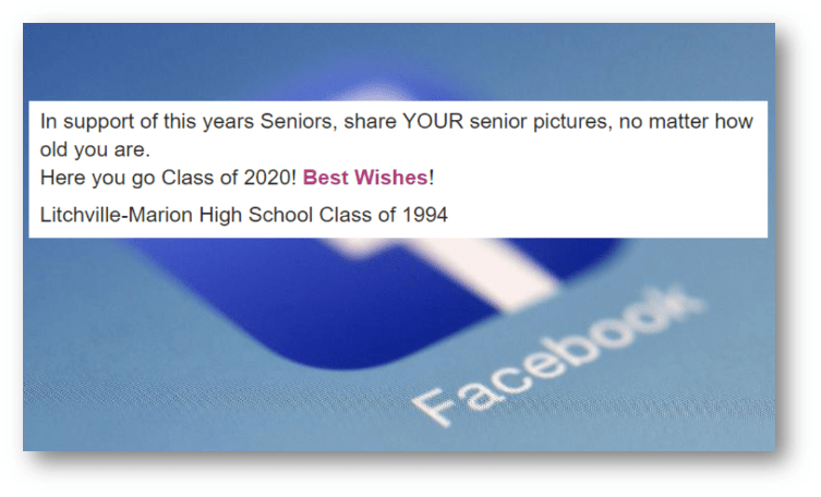WARNING TO STOP SENIOR PICS ON SOCIAL MEDIA