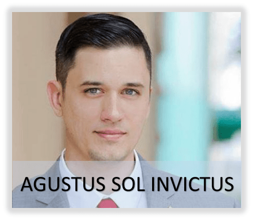Weird news of the day Augustus Sol Invictus