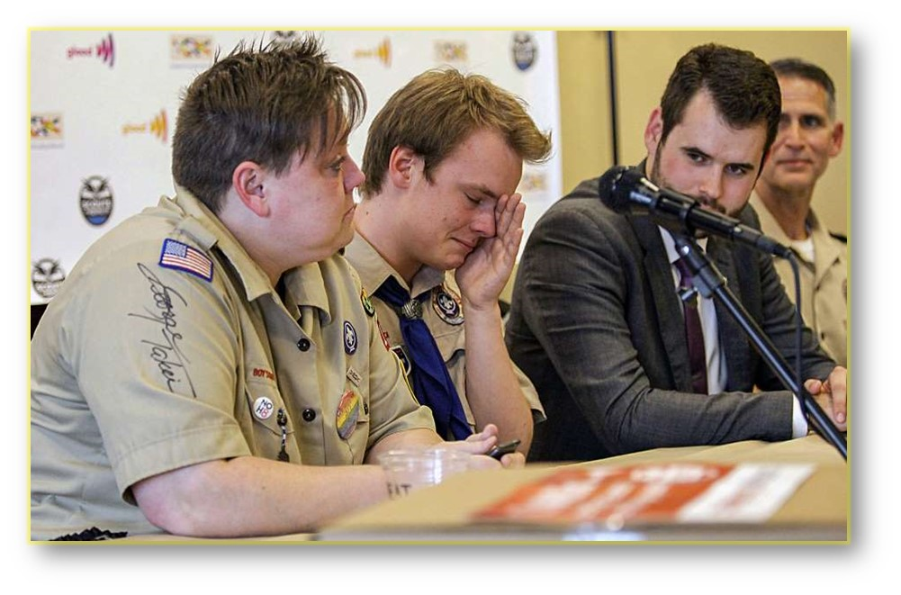 THIS DAY IN HISTORY 2013 BOY SCOUTS ALLOW GAYS