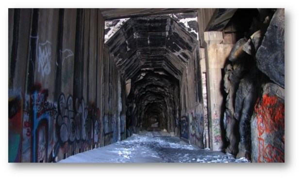 DONNER TRAIN TUNNELS