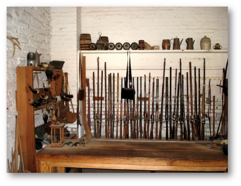 GUNS SOLD TO SETTLERS