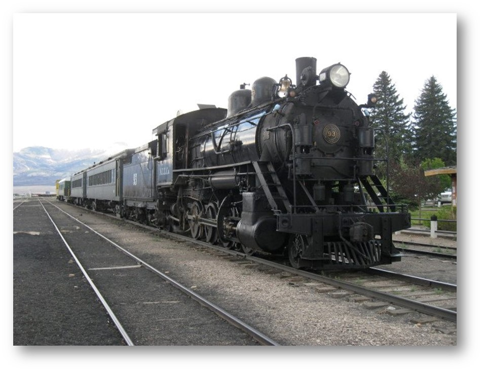 NEVADA ADVENTURES: TRAINS TO RIDE
