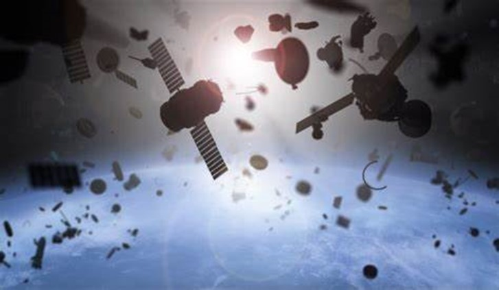 IT'S A BIRD- A PLANE-JUST SPACE JUNK