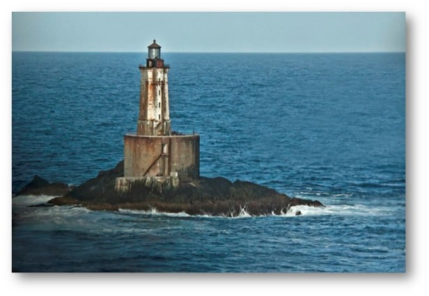 St. George Reef Lighthouse In Northern California