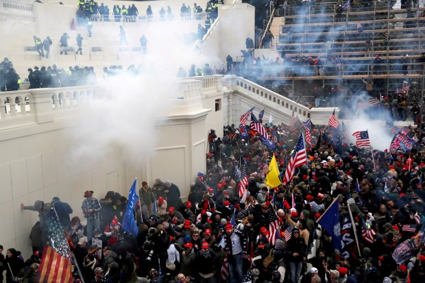FEDS SEIZE $90k FROM MAN WHO SOLD FOOTAGE OF CAPITOL RIOT