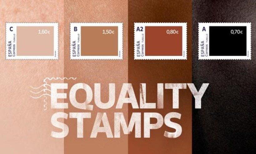 """Spain criticized for unequally priced """"equality stamps"""""""