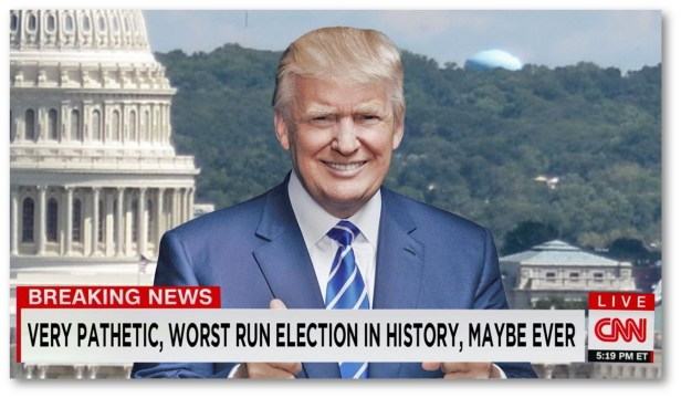 CNN Hires Trump As News Anchor To Recover Lost Viewers