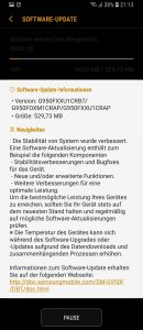Samsung Galaxy S8 OK Google Bugfix Update