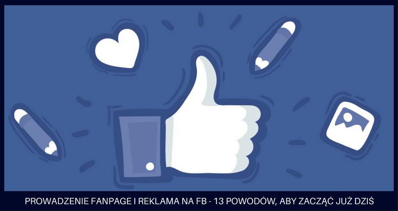 prowadzenie fanpage i reklama na fb