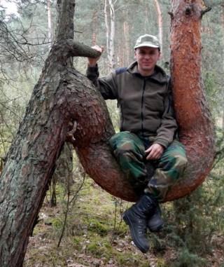 Dawid Król w Załęczańskim Parku Krajobrazowym