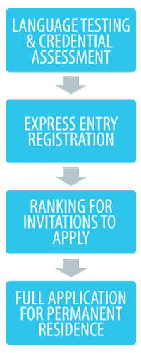 Applicants should focus on the process for Express Entry and the steps they need to take.