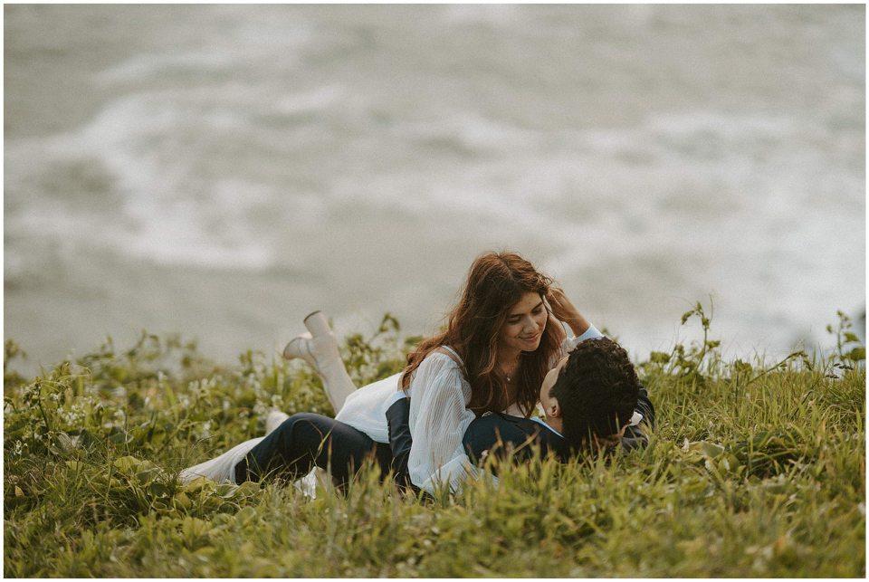 beach elopement