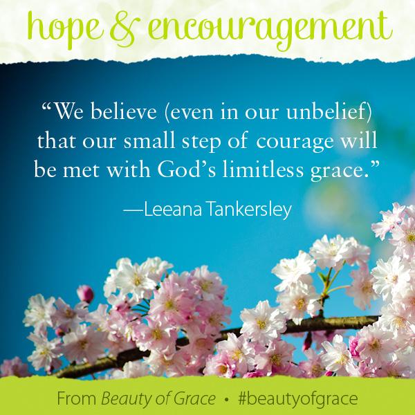 Leeana Tankersley The Beauty of Grace #beautyofgrace