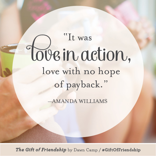 Amanda Williams The Gift of Friendship #GiftofFriendship