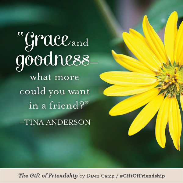 Tina Anderson The Gift of Friendship #GiftofFriendship