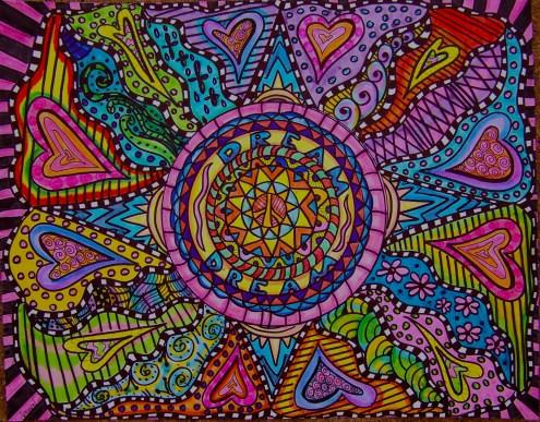 Heart Mandala