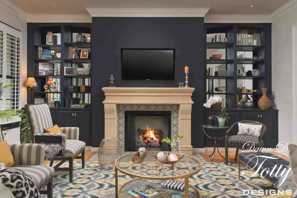 Parisian LIving Room Design, Mystery Makeover, Dawn D Totty Designs