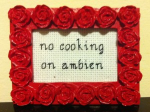 Ambien side effects can cook you.